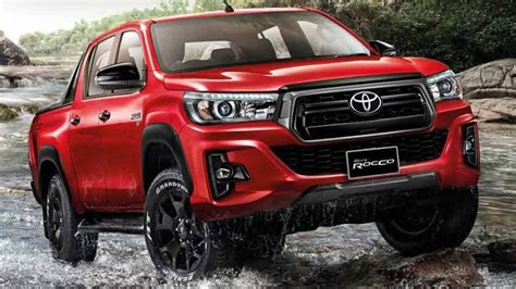 2019 Toyota Hilux Facelift by 2018 Toyota Hilux Getting Luxurious Version