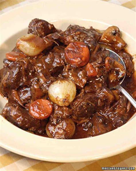 beef bourguignonne recipe martha stewart