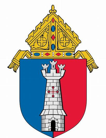 Diocese Toledo Catholic Roman Crest Ohio St