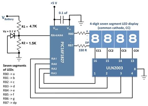 Voltage Monitor For Car Battery Its Charging System
