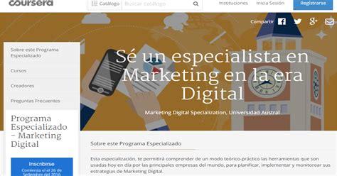 coursera digital marketing course tiza el de rafa coursera programa