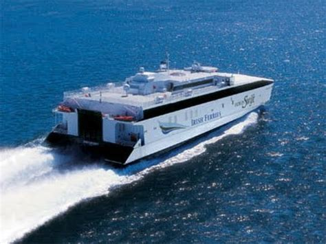 Catamaran Irish Ferries by Irish Ferries Dublin Swift Youtube