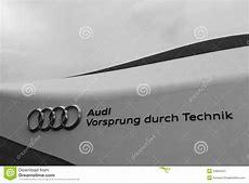 Audi Slogan Editorial Photography Image 24853437