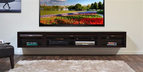 Living Room Set Under 500 by Floating Tv Stand Entertainment Center Eco Geo Espresso