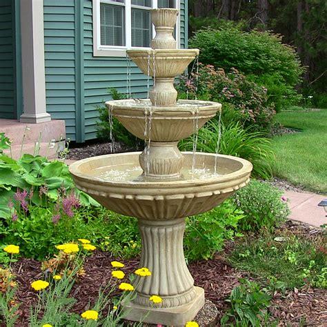 electric bird bath water fountain