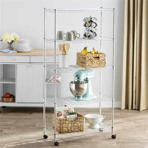 wayfair basics wayfair basics  shelf wire shelving unit