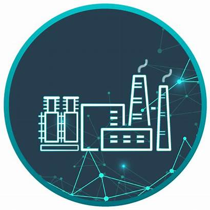 Chemical Processing Plants Icon Database Industrial Industry