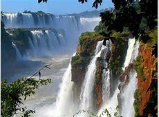 Waterfall in Argentina Pixdaus