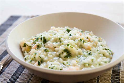 cuisine provencal shrimp risotto recipe simplyrecipes com