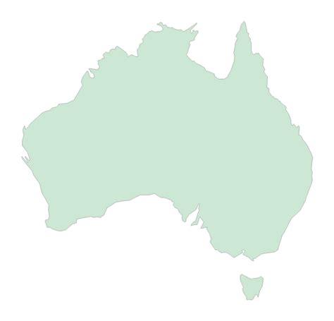 australia   zealand vector stencils library