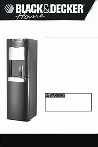 Black  U0026 Decker Water Dispenser   900149 User Guide