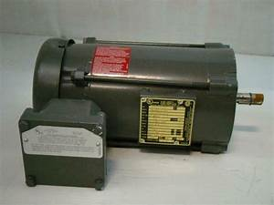 Baldor 1  3hp Electric Motor Hazardous Location 115