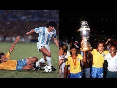 BRASIL   COPA AMÉRICA 1989   YouTube