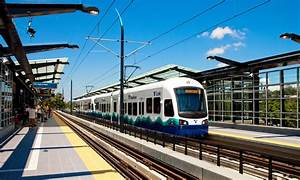 Central Link Light Rail D720 Guideway and Mount Baker ...