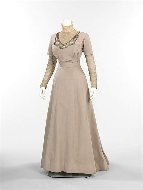 ensemble thurn american date ca 1910 culture american medium wool silk fur metal