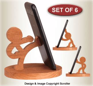featured items character cell phone holders
