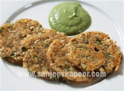 mini sabudana thalipeeth recipe  masterchef