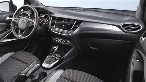 opel crossland   dimensions boot space  interior