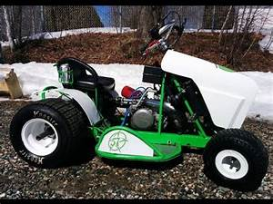 Kart Anhänger 2 Karts : racing mower kart 2 strokes yz 250 first test run ~ Jslefanu.com Haus und Dekorationen