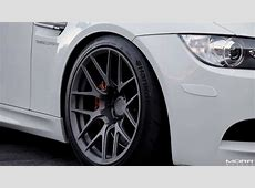 MORR Wheels SpeedDistrict BMW E92 M3 on 18