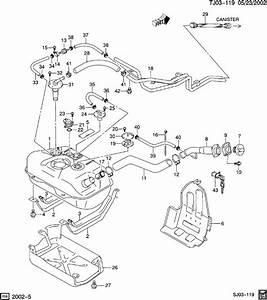 Chevrolet S10 Hose  Early Fuel Evaporation  Hose  Evap