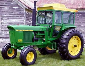 John Deere 4000 Twenty Series With Cab  4320  4520  4720