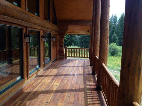 log cabin stain log home restoration colorado