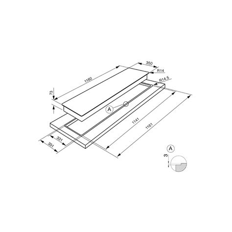 piano cottura filo top piano cottura smeg pgf64 4 acciaio inox a semifilo 60 cm smeg
