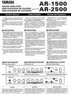 Ar-2500 Manuals