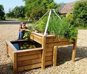 Fabriquer Un Bac Potager Avec Des Palettes : bassins de jardin baignade naturelle pisciculture ~ Louise-bijoux.com Idées de Décoration