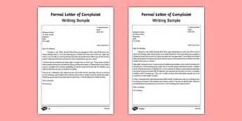 ks formal letters  fictions literacy ks