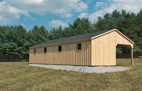 Amish Built Horse Barns for Sale in Maryland   Find a