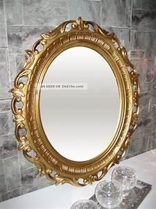 Spiegel Groß Antik : wandspiegel spiegel gold antik barock 58x68 cm modern oval ~ A.2002-acura-tl-radio.info Haus und Dekorationen