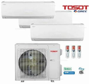 Manual And Guide For Tosot Tri Zone Split Air Conditioner