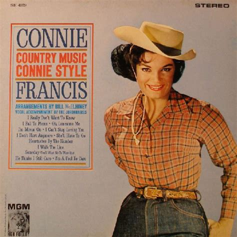 Heartbreak Hotel Connie Francis  Country Music Connie Style