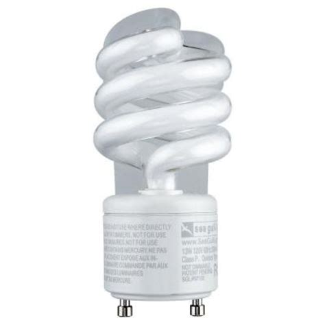 sea gull lighting 5 in gu24 13 watt bright white 2700k