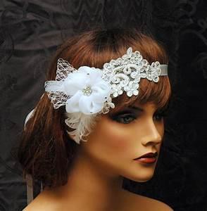 Wedding Headpiece Bridal Rhinestone Hair Piece Lace