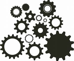 gears clipart | DIY Steampunk | cogs | Silhouette Patterns ...