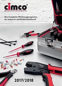 Müller Katalog 2017 : der neue cimco katalog ist da cimco werkzeuge f r elektrohandwerk und industrie ~ Orissabook.com Haus und Dekorationen