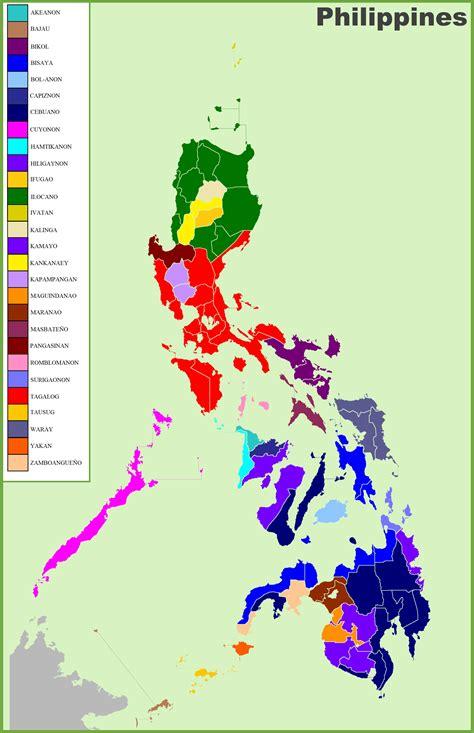 map  ethnic groups  philippines