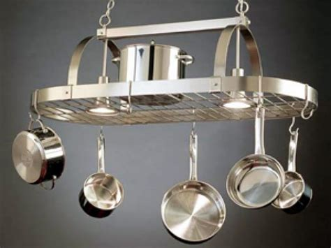 kitchen island hanging pot racks a pot rack in its proper place hgtv 8181