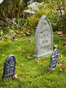 Tombstones, Make, Perfect, Scary, Halloween, Decorations, For, More, Easy, Scary, Halloween, Decorations