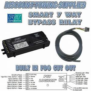 Mercedes 7 Way Bypass Relay Pct Zr2500 Logicon Towing Interface Inc Fog Cut Out