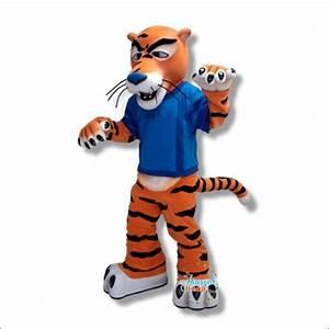 Funny Tiger Mascot Costume