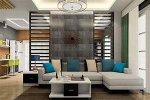 Www Sofa Com : living room sofa with partition wall ~ Michelbontemps.com Haus und Dekorationen