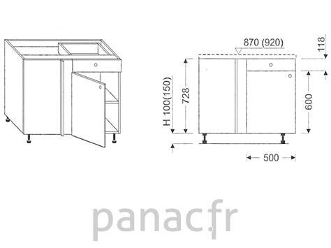 dimension meuble de cuisine dimension meuble de cuisine bas image sur le design maison