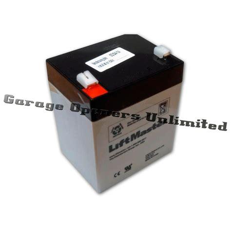 garage door opener battery liftmaster 41b591 battery replacement for bbu