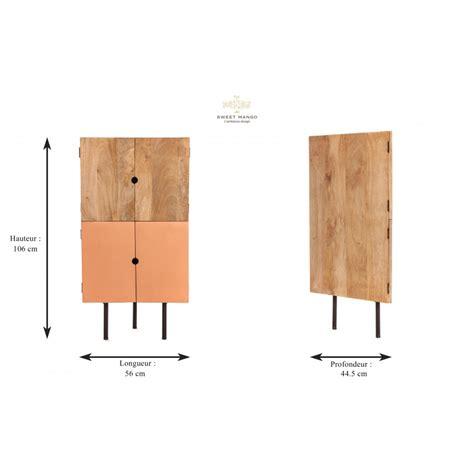 meuble d angle design bois