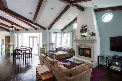 How To Choose And Use Colors In An Open Floor Plan Small Living Room And Dining Ideas Unfinished Wood Chairs Chair Covers White Parson Shop Sets Lamp Shades Morgan Library Pulaski Furniture Set
