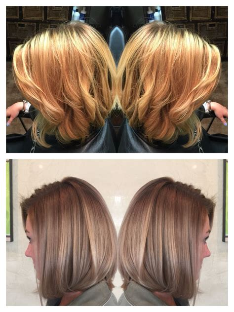 Ashy Hair Pictures by Pictures Brassy Roots Ashy Ends Hairstyles Haircut Ideas